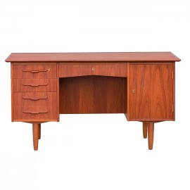 Duńskie biurko teakowe BOSTRUP