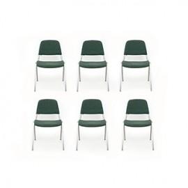 6x krzesła industrialne proj.Don Albinson