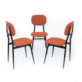 Włoskie krzesła design lata 50 60