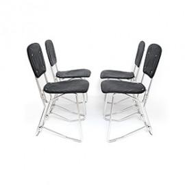 Krzesła składane Aluflex proj. Armin Wirth
