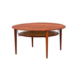 Okrągły stolik kawowy proj. Hvidt & Molgaard-Nielsen