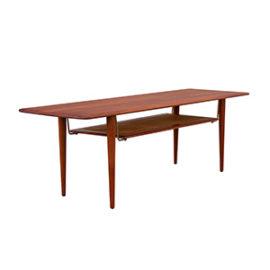 Prostokątny stolik kawowy proj. Hvidt & Molgaard-Nielsen