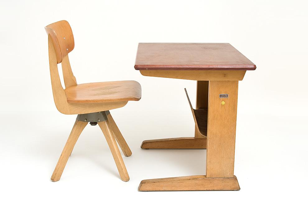 Modish Simply Modern – design XX wieku | Zestaw szkolny – ławka + krzesełko JV87